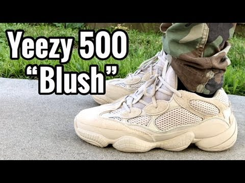 "637c432205c adidas Yeezy Desert Rat 500 ""Blush"" on feet - YouTube"