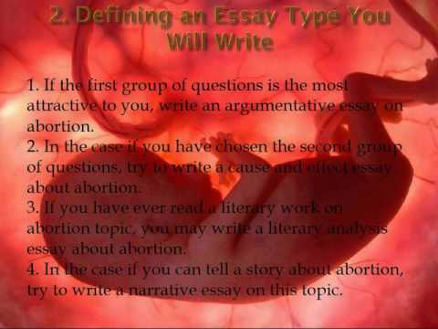 Abortion Essay