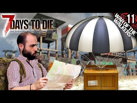 7 DAYS TO DIE M11 | BUSCO AIRDROPS, ENCUENTRO VENDEDORES :D | Gameplay Español