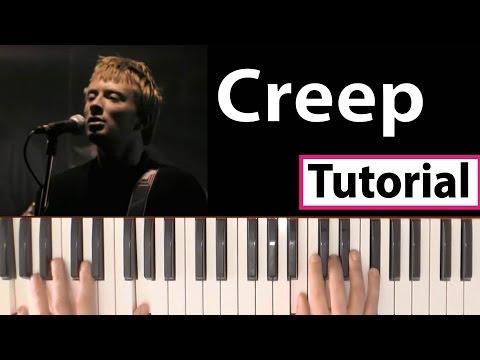 """Como tocar """"Creep""""(Radiohead) - Piano tutorial y partitura"""