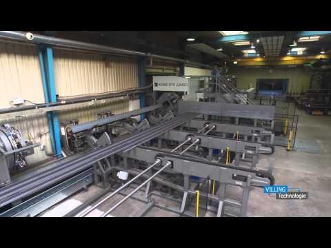 VILLING Technologie - Unsere neue Profillaser-Anlage