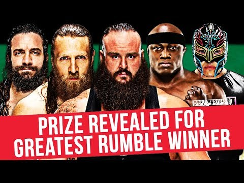 Prize For The Winner Of The Greatest Royal Rumble Revealed