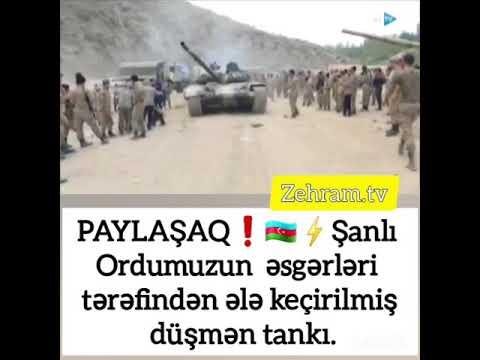 erməni tankı ələ keçirildi❗