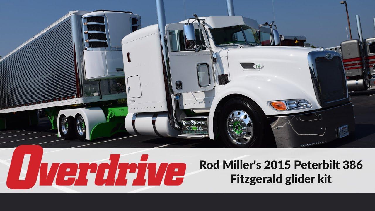What Is A Glider Kit >> Rod Miller S 2015 Peterbilt 386 Fitzgerald Glider Kit Youtube