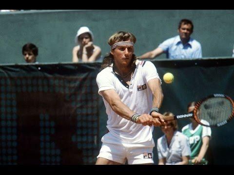 1984 Gunze World Tennis Final Bjorn Borg vs Bill Scanlon