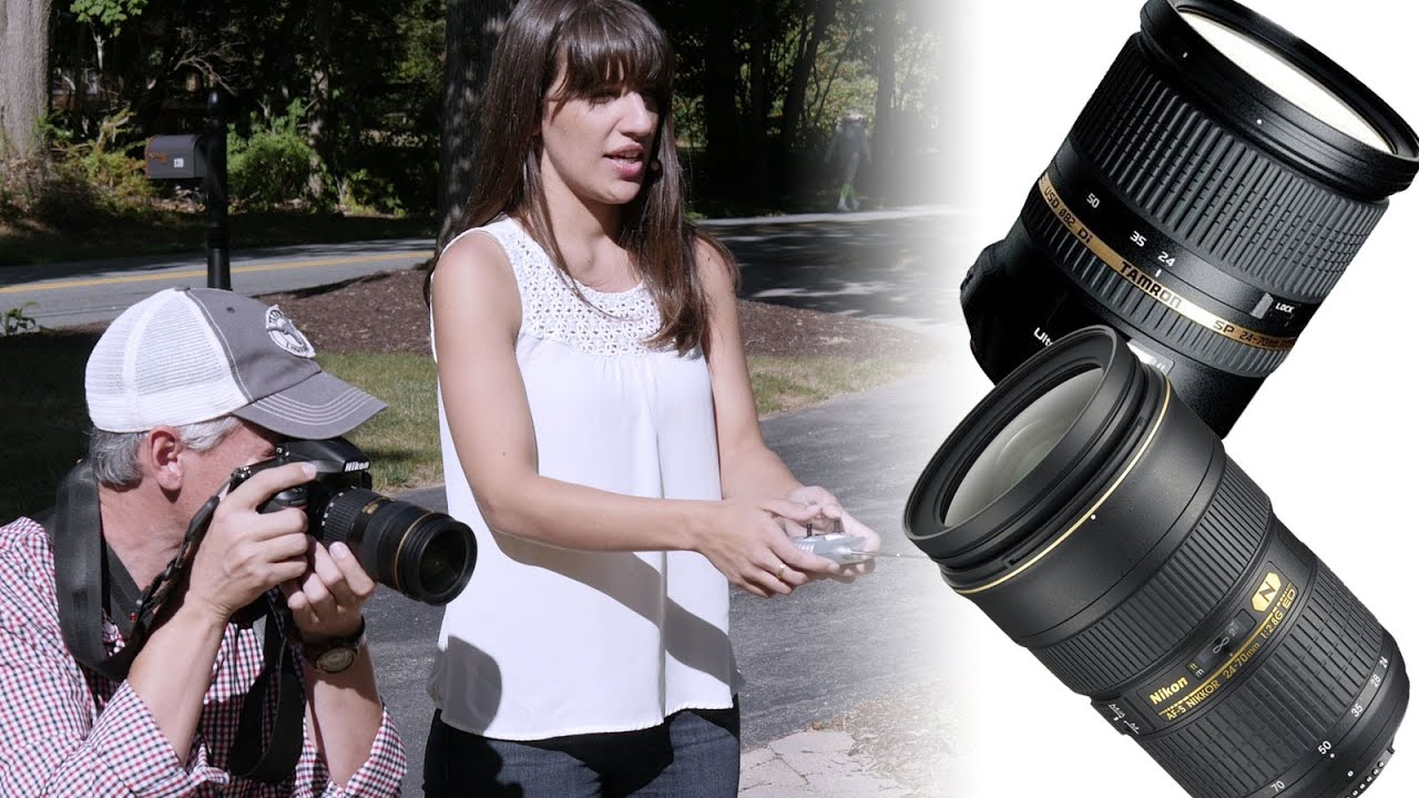 Tamron vs Nikon 2470 f28 Pro Lens Shootout Save 600