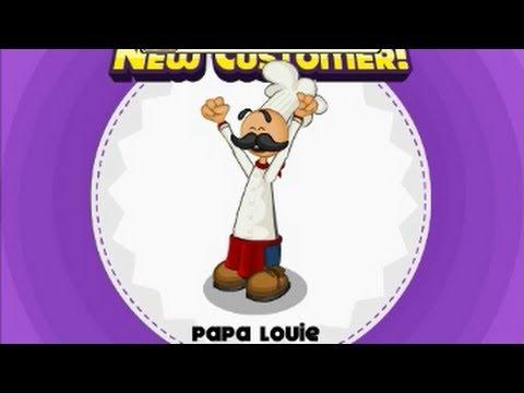 Все игры Папа Луи кафе, ресторан, кухня