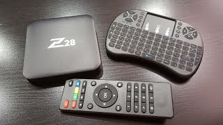 МОЩНЫЙ TV BOX Z28 на Android 7.1 ALIEXPRESS