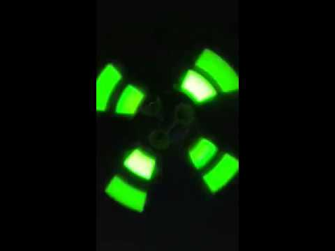 Glow Sticks On Ceiling Fan