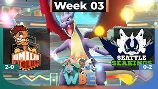WBE Week 3 - Humilau Hoodlums Vs Seattle Seakings - Pokémon LGPE Wi-Fi Battle