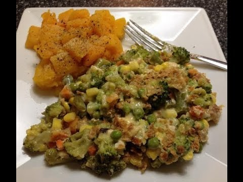 Recipe! Creamy Chicken & Vegetable Casserole 3 WW Points Per Serving!
