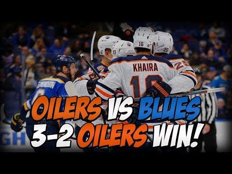 Cam Talbot FINALLY Wins! SHOOTOUT W! Edmonton Oilers Win 3-2 vs St  Louis Blues Breakdown