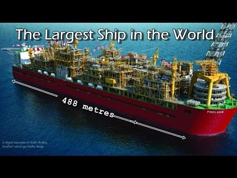 ❂ 488 metres - The Largest Ship in the World ✿✿