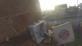 Checking CCTV Junction Box Connections