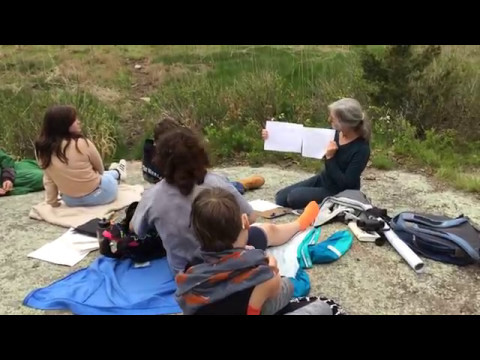 CELC Middle School Outdoor Education with ornithologist Dr. Celia Lewis