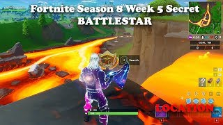 Fortnite - Season 8 - Week 5 - Secret Battlestar Location