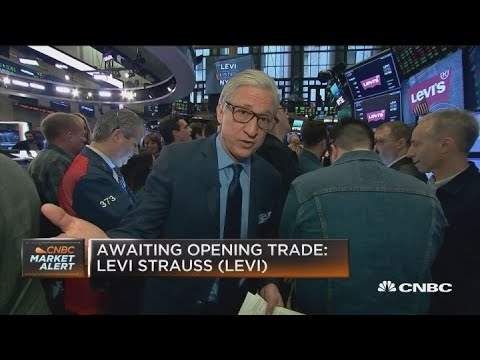Investors await opening trades from Levi Strauss IPO