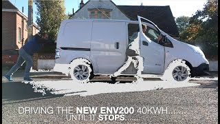 0% BATTERY - WILL IT DRIVE?  ELECTRIC VAN ENV200