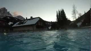 в бассейне в отеле Досес  MP4(Валь Гардена отель Досес 10.01.2013., 2013-01-15T07:19:31.000Z)