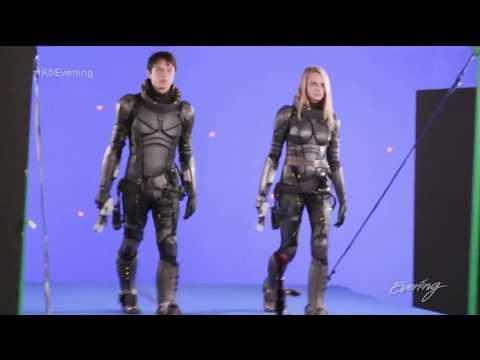 Valerian - Movie Review - Interviews with Cara Delevingne, Dane DeHann & director Luc Besson