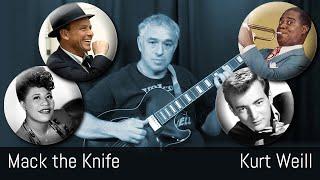 Mack the Knife - solo jazz guitar - Jake Reichbart