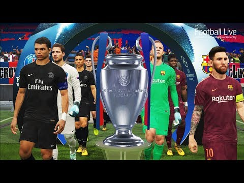 PES 2018 | FC Barcelona vs PSG | Final UEFA Champions League [UCL] | penalty shootout | Gameplay PC