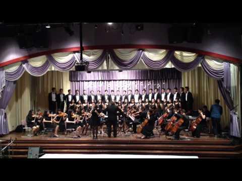บทเพลงพระราชนิพนธ์ แว่ว  SPCO & Med CMU Chorus  12 - 03 - 2560