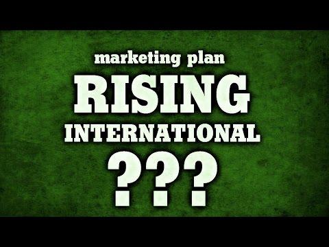 Maketing Plan RISING INTERNATIONAL