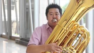 Hidehiro Fujita on the Tuba