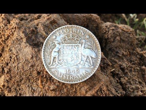 Metal Detecting 925 Stirling Silver Down Under Treasure Hunt...