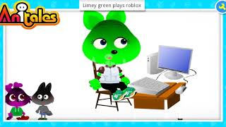 "Anitales: ""Limey green plays roblox"" - spinshot219"