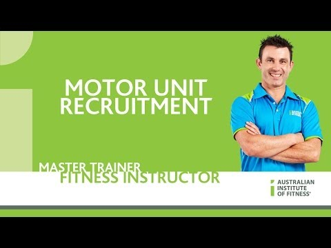 Motor Unit Recruitment