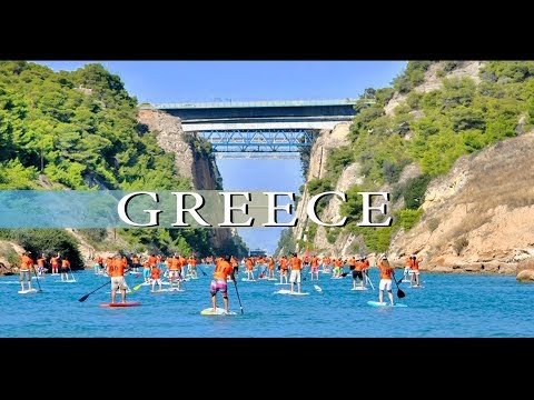 Corinth Canal - an engineering wonder in Greece, the land of myths ~Η Διώρυγα της Κορίνθου