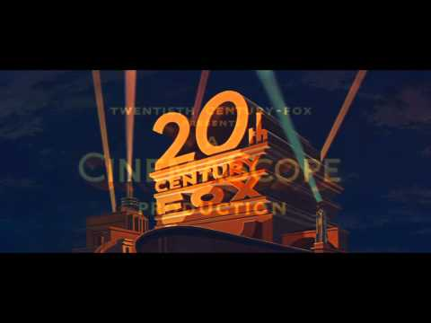 20th Century Fox logo (1953) [with CinemaScope extension] (HD)