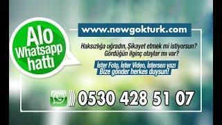New Göktürk Dergisi WhatsApp ihbar hattı 0530 428 51 07