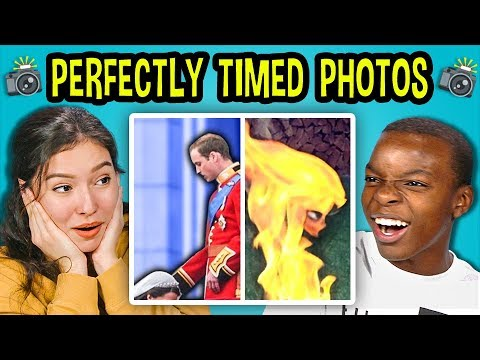 10 PERFECTLY TIMED PHOTOS w/ Teens #2 (React)