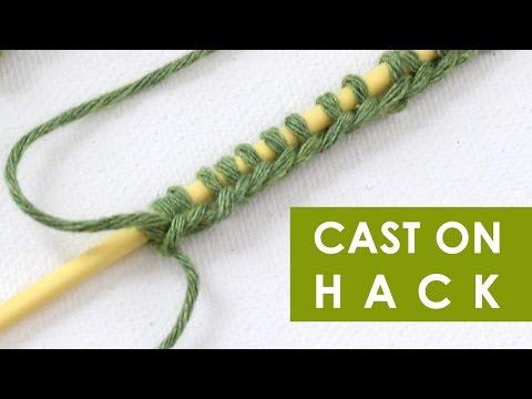 Knitting Hacks: Casting On