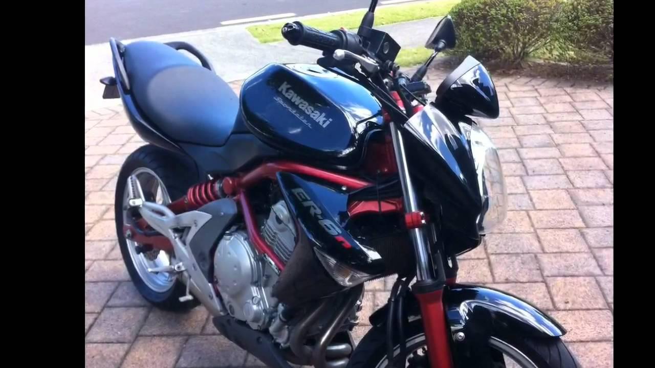 Kawasaki Er 6n 2007 Youtube