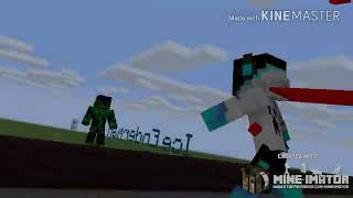 Minecraft pocket Editions primeira vez jogando