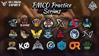 [Hindi] PMCO Practice Scrims • South Asia • PUBG Mobile • Villager Esports