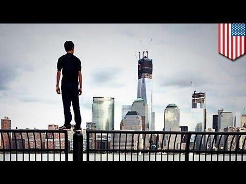 Justin Casquejo, 16, naaresto sa pag-akyat sa tuktok ng 1 World Trade Center!