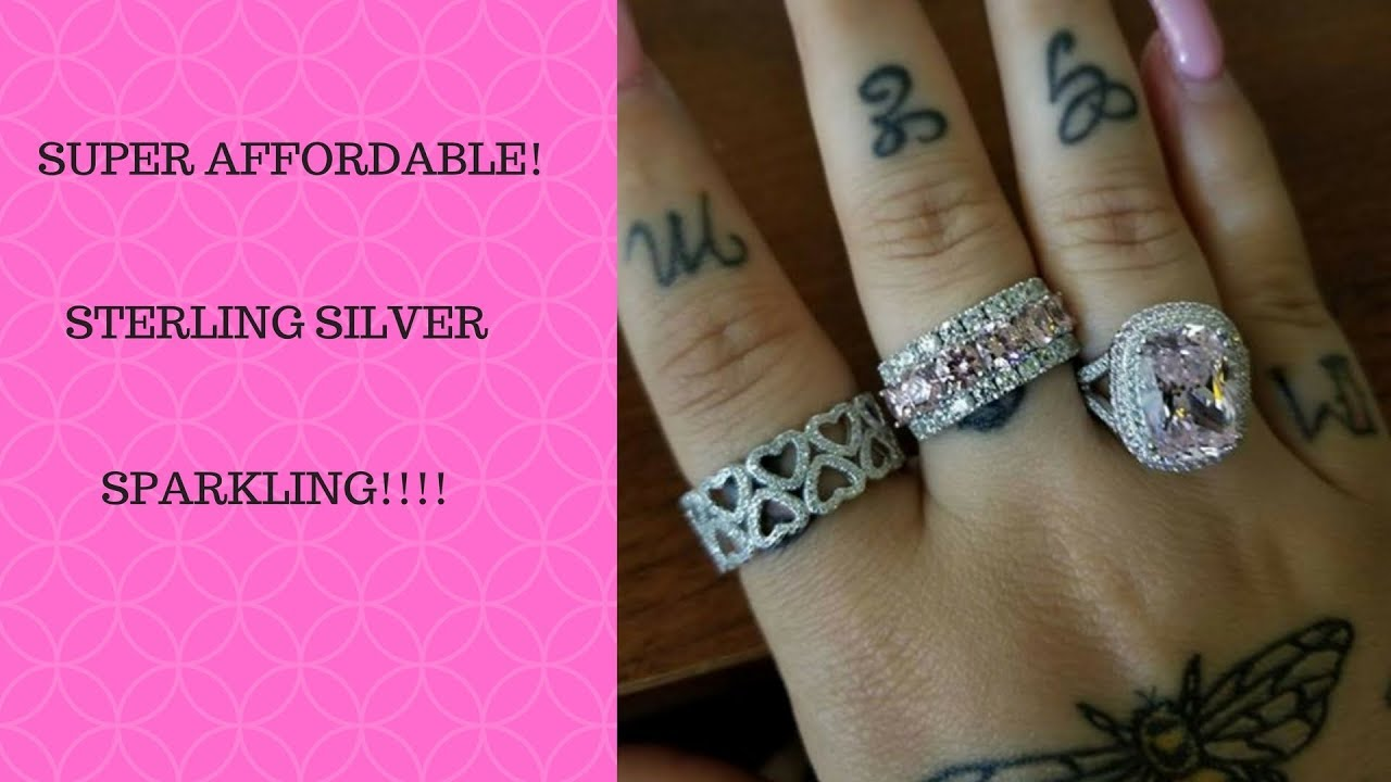 Super Affordable Rings You Need In Your Life! JTV Ring Haul! - YouTube