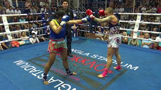 Brooke Farrell (Tiger Muay Thai) vs Tubtimsiam Sor.Ganjana 31/1/18