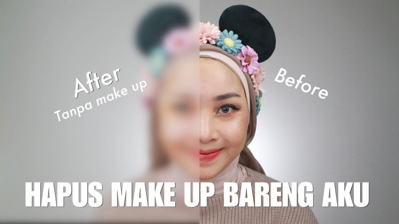 GET UNREADY WITH ME! HAPUS MAKE UP DAN SKINCARE-AN (NIGHT ROUTINE)