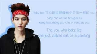 EXO-M - Peter Pan (彼得潘) (Color Coded Chinese/PinYin/Eng Lyrics)