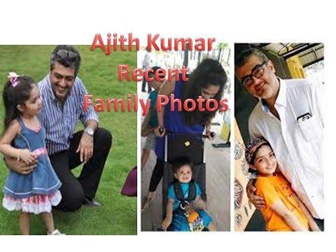 Ajith Kumar & Shalini with children Recent family photo ...Ajith Family Album
