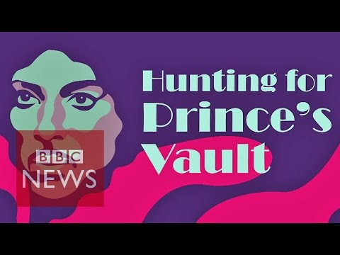 Prince: Hunting for the secret vault at Paisley Park - BBC News