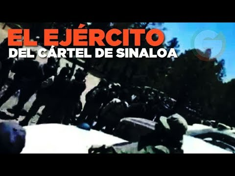 Los ejércitos del CDS que tomaron  Culiacán #Sinaloa
