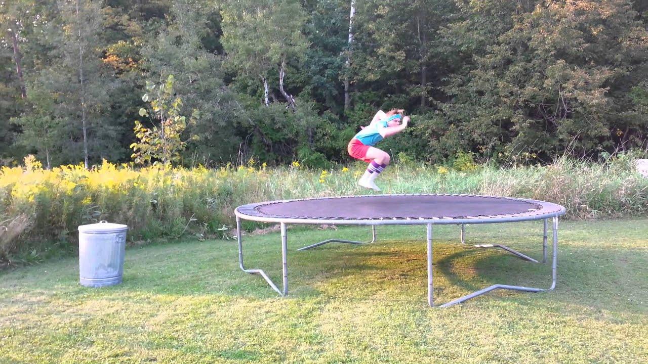 Dangerous Trampoline Stunts - Gus Johnson Comedy Short ...