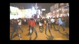 Christian Flash mob in Guntur